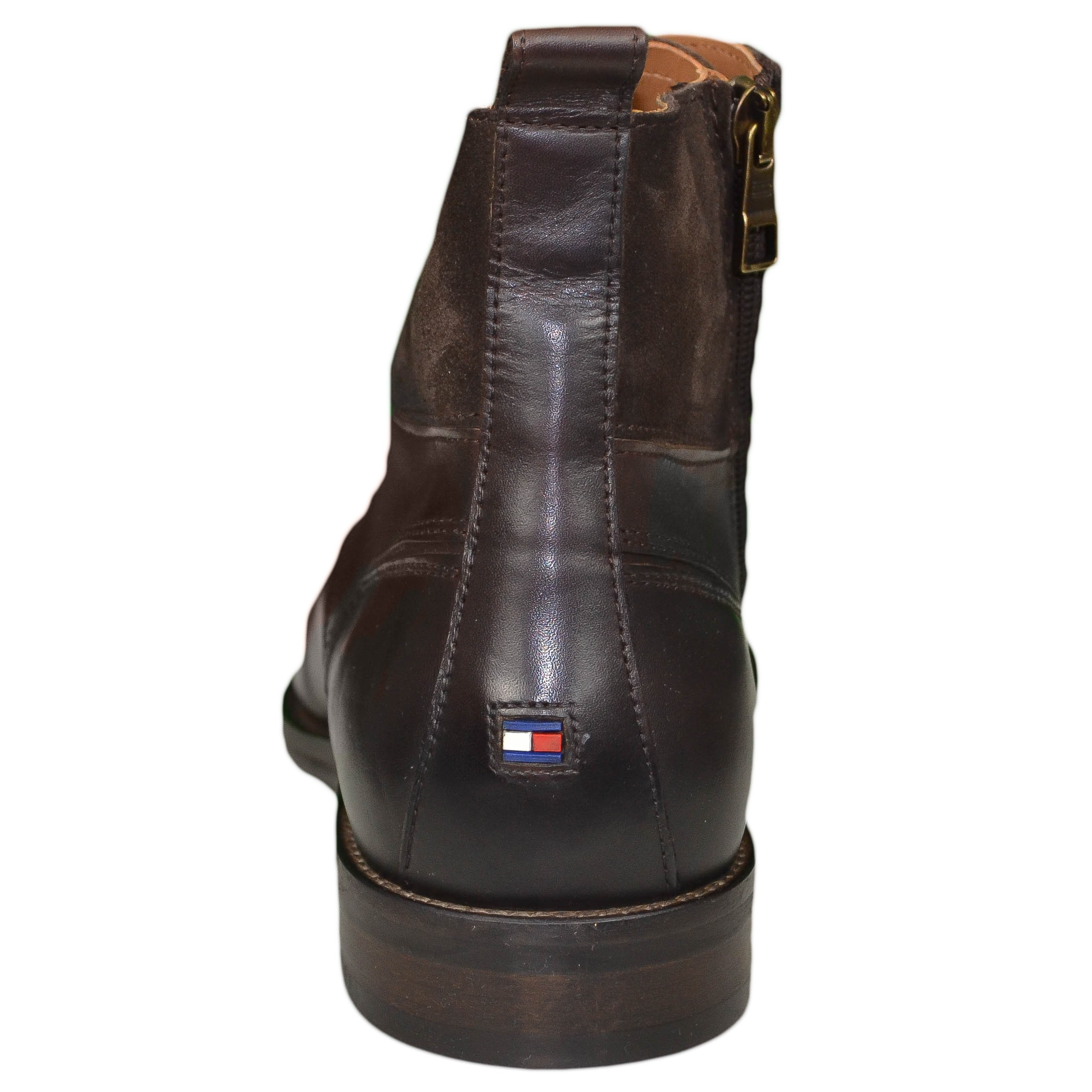 best sale a few days away special section Boots montantes Tommy Hilfiger marron pour homme - Toujours au meil...