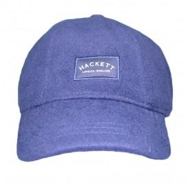 Casquette Hackett bleu marine en laine pour homme