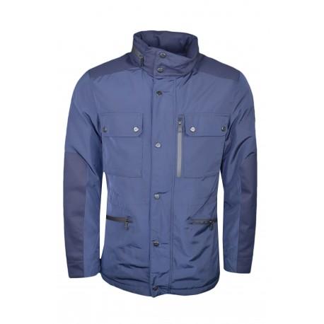 Veste imperméable Hackett bleu marine pour homme