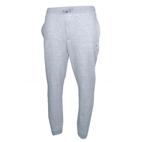 Pantalon jogging Tommy Jeans gris molletonné pour homme