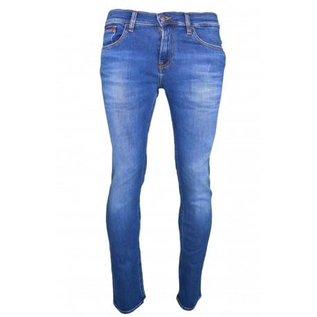 Jean Tommy Jeans bleu Scanton slim pour homme