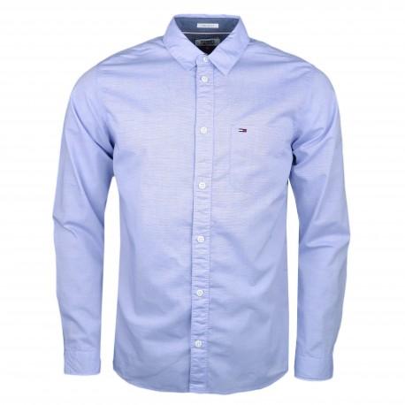 Chemise Tommy Jeans bleu régular pour homme