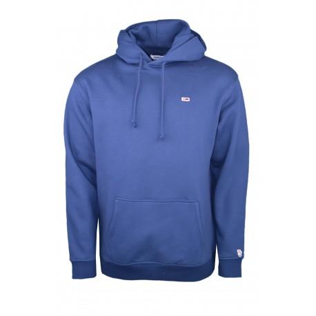 Sweat à capuche Tommy Jeans bleu marine pour homme