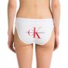 Culotte Calvin Klein blanche et rouge pour femme