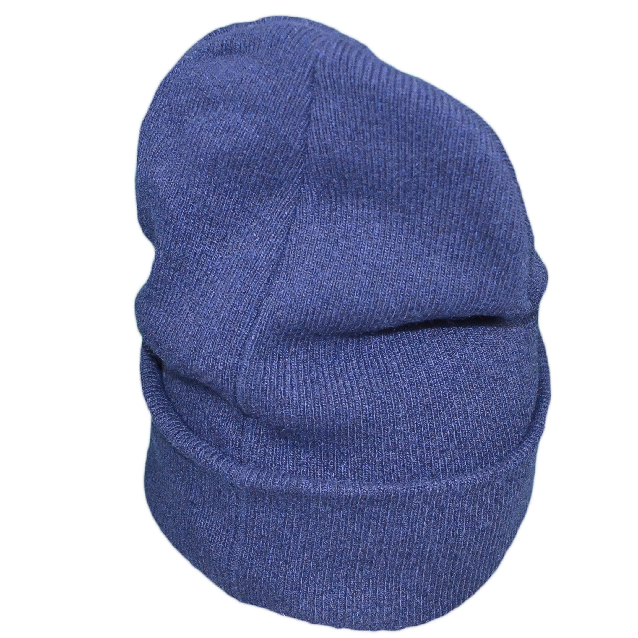 Bonnet Calvin Klein Jeans bleu marine laine cachemire pour homme ,