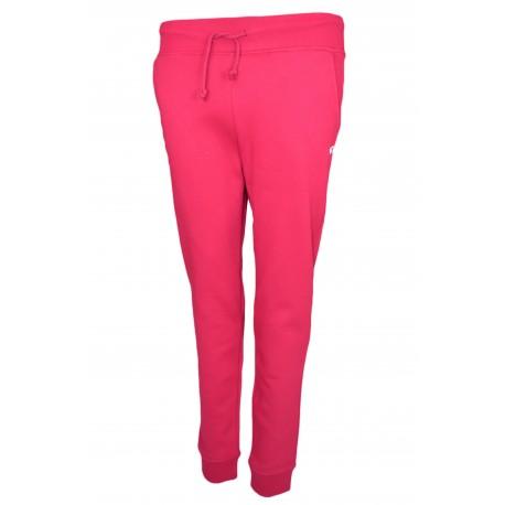 Pantalon jogging Tommy Jeans rouge bordeaux pour femme