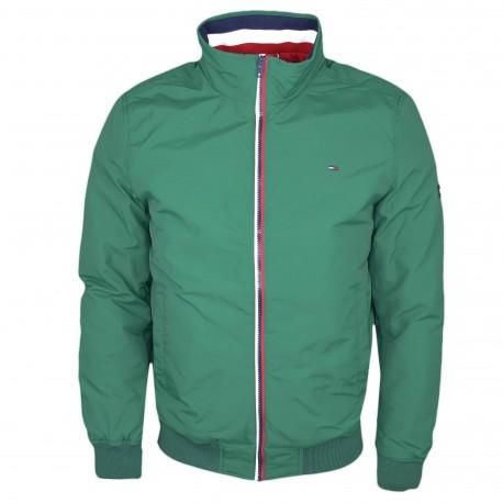 Veste Tommy Jeans verte régular pour homme
