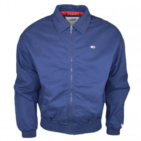 Veste zippée Tommy Jeans bleu marine pour homme