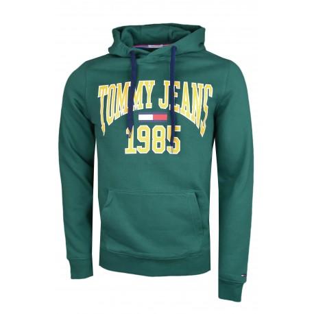 Sweat À Pour Capuche Tommy Et Jaune Homme Toujours Vert Au Jeans wPcUw4rFq