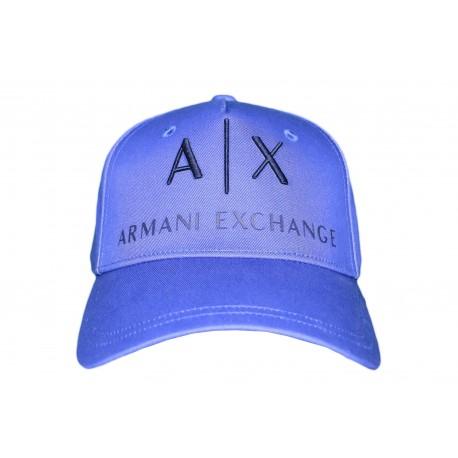 Casquette Armani Exchange bleu pour homme