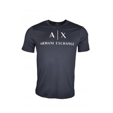 T-shirt Armani Exchange noir pour homme