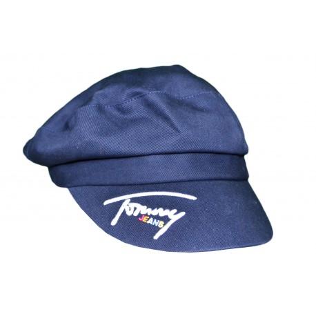 Casquette baker boy Tommy Jeans bleu marine pour femme