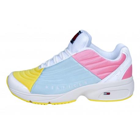 Baskets tendance Tommy Jeans multicolore pour femme