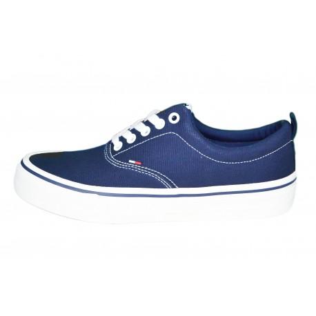 Baskets basses Tommy Jeans bleu marine pour homme