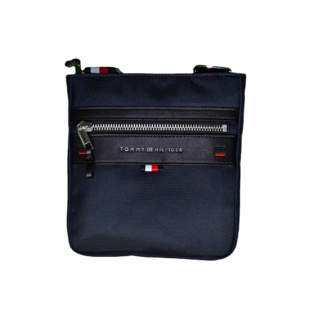 Sacoche Tommy Hilfiger bleu marine en nylon pour homme