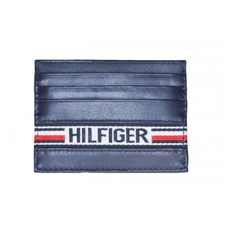 Porte-cartes Tommy Hilfiger bleu marine pour homme
