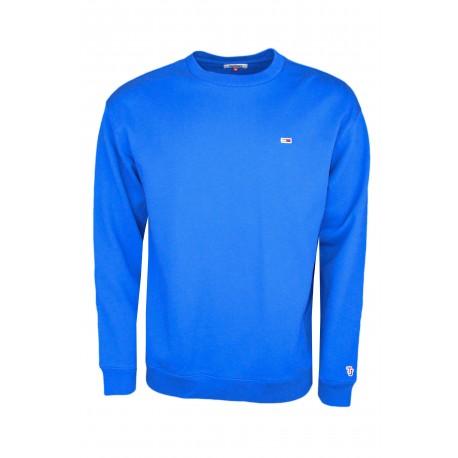 Sweat col rond Tommy Jeans bleu France pour homme