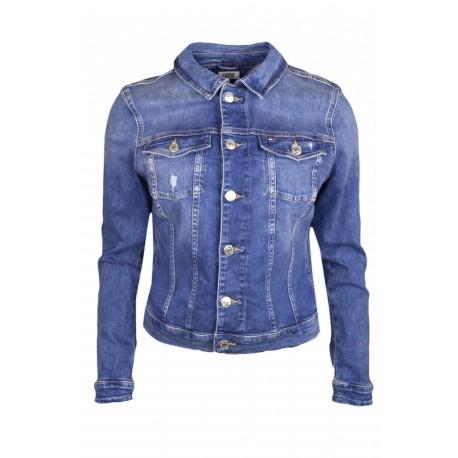 Veste en jean Tommy Jeans bleu pour femme