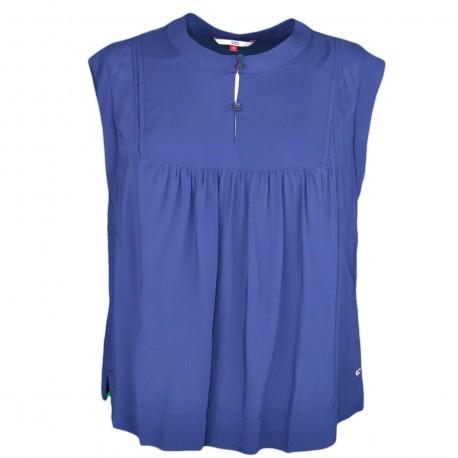 Blouse Tommy Jeans bleu marine pour femme