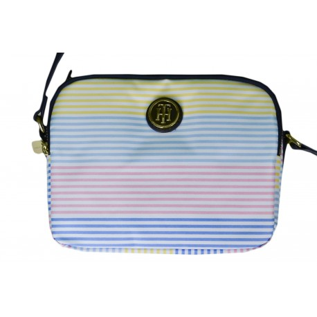 Sac à bandoulière Tommy Hilfiger multicolore en nylon pour femme