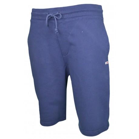 Short molleton Tommy Jeans bleu marine pour homme