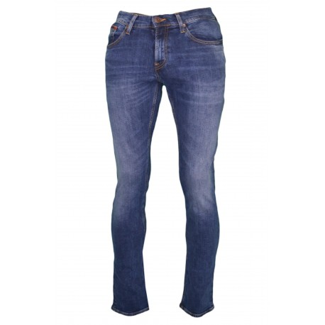 Jean scanton Tommy Jeans bleu stretch slim fit pour homme