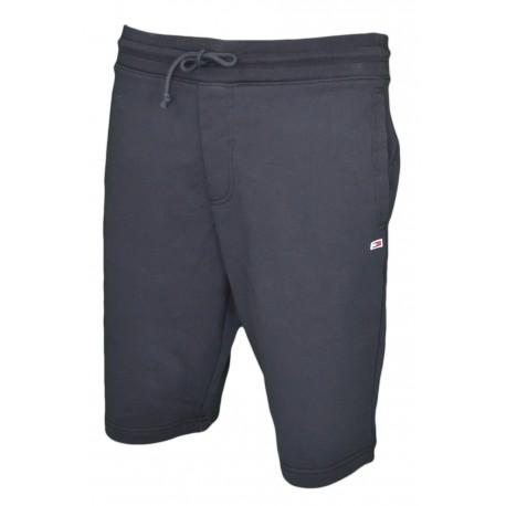 Short jogging Tommy Jeans noir en molleton pour homme