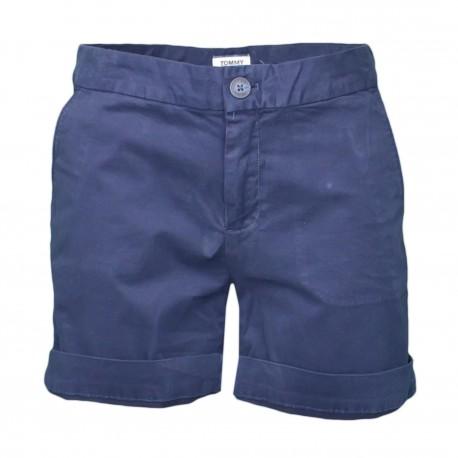 Short chino Tommy Jeans bleu marine pour femme
