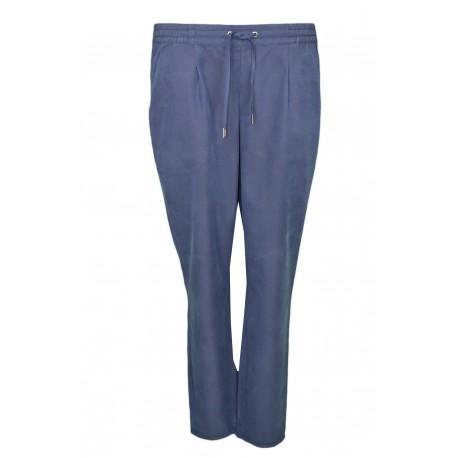 Pantalon fluide Tommy Jeans bleu marine pour femme