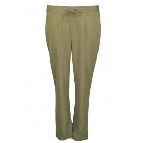Pantalon fluide Tommy Jeans vert kaki pour femme