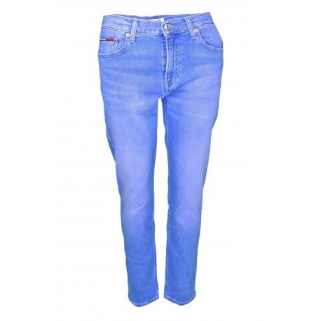 Jean Tommy Jeans bleu délavé slim pour femme