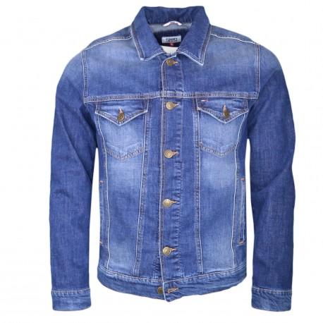 Veste en jean Tommy Jeans bleu pour homme
