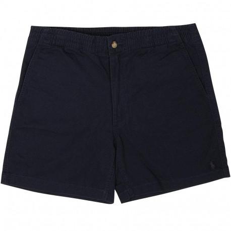 Short Ralph Lauren bleu marine logo ton sur ton pour homme