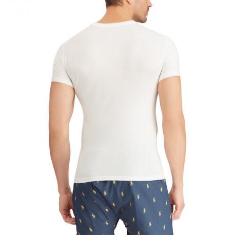 Sweat à capuche Ralph Lauren blanc pour homme