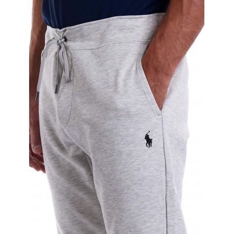 Chemise rayée Ralph Lauren bleu et blanche slim fit en popeline stretch pour homme