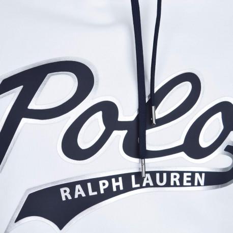 Polo Ralph Lauren bleu marine vieilli slim fit en coton piqué pour homme