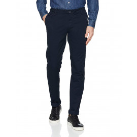 Pantalon chino Armani Exchange bleu marine pour homme