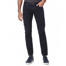 Pantalon en sergé Armani Exchange bleu marine pour homme