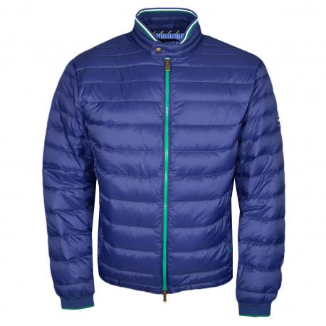 Veste matelassée Ralph Lauren bleu marine en nylon pour homme
