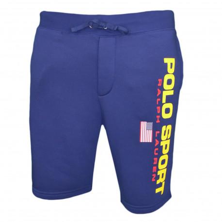 Short sport Ralph Lauren bleu marine POLO SPORT pour homme