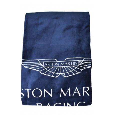 Serviette de bain Hackett Aston Martin bleu marine mixte