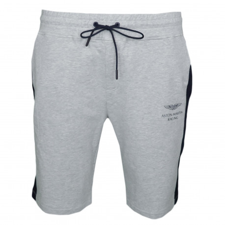 Short long Hackett Aston Martin gris pour homme