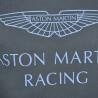 Sweat col rond Hackett Aston Martin bleu marine pour homme