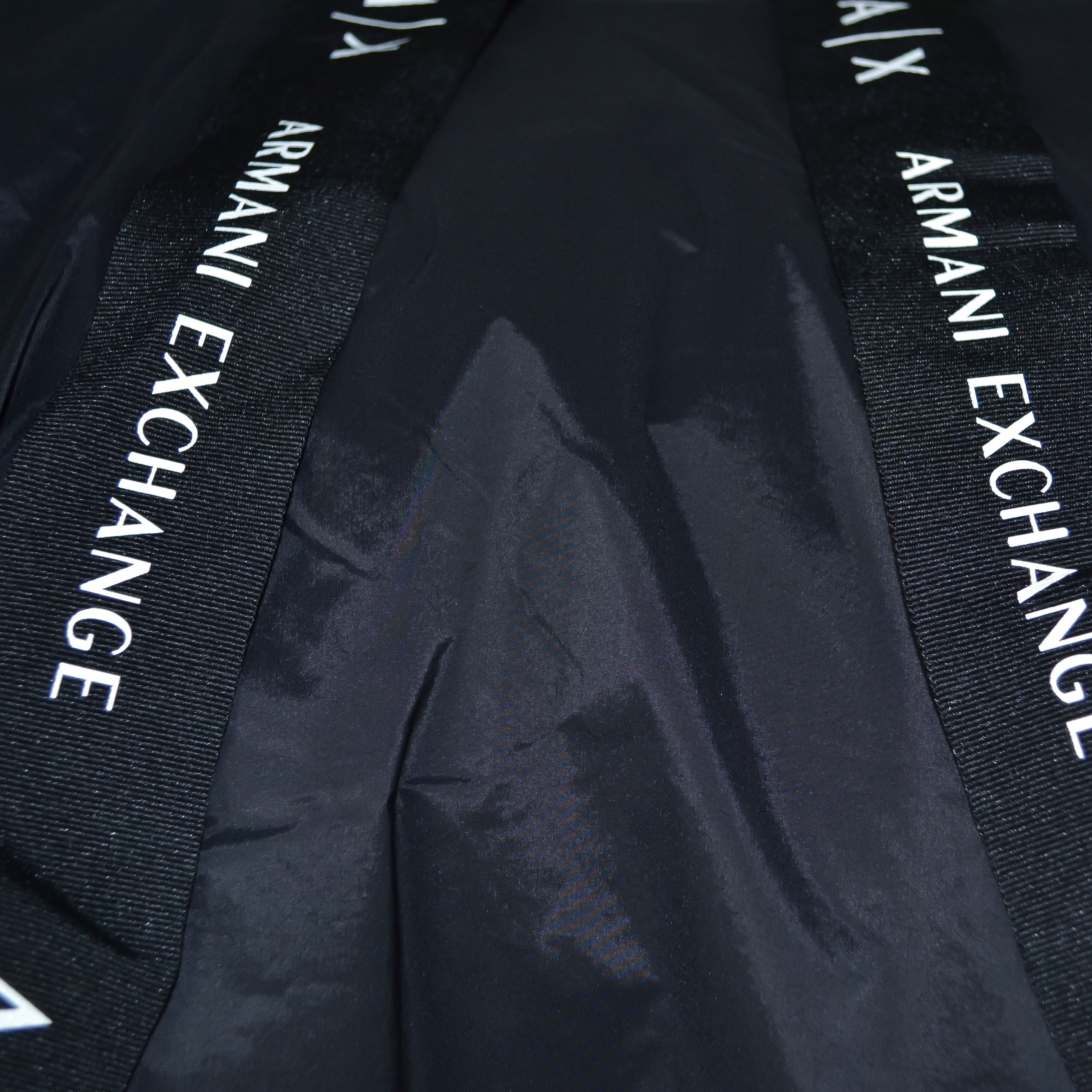 Veste Armani Exchange noire en nylon pour