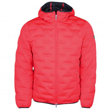 Manteau Hackett Aston Martin rouge à capuche pour homme