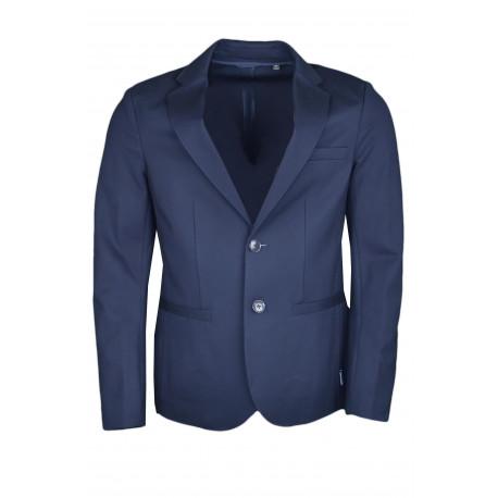 Blazer Armani Exchange bleu marine ajusté pour homme