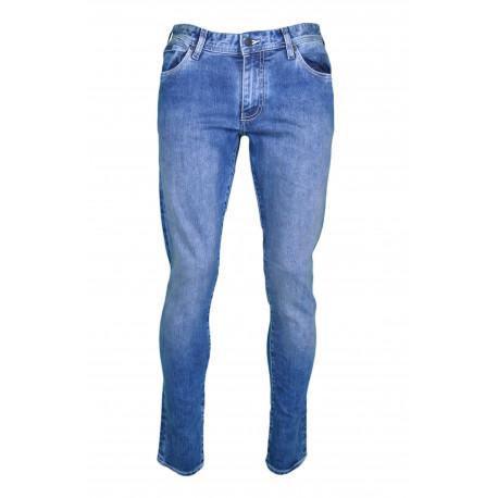 Jean Armani Exchange bleu coupe droite pour homme