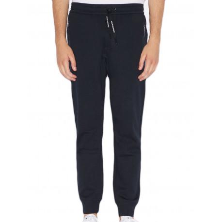 Pantalon jogging Armani Exchange bleu marine pour homme