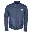 Veste bi-matières Hackett Aston Martin bleu marine pour homme