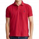 Polo Ralph Lauren rouge logo marine pour homme